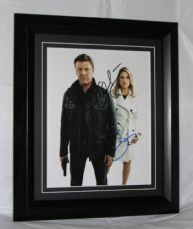 "A299SPAL SEAN BEAN & ALI LARTER - ""LEGENDS"" DUAL SIGNED"